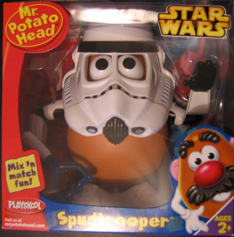 Spud Trooper in a box